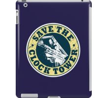 Save The Clock Tower (White Background) iPad Case/Skin