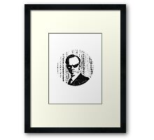 Agent Smith - The Matrix Framed Print
