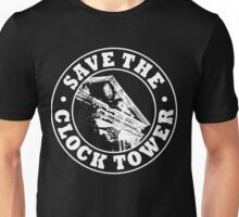 Save The Clock Tower (White Print) Unisex T-Shirt