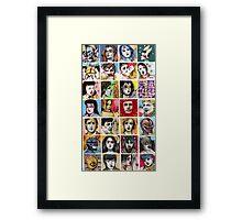 A POP CULTURE JUNKIE PART 1 Framed Print