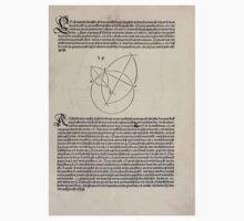 Measurement With Compass Line Leveling Albrecht Dürer or Durer 1525 0027 Varied Curves One Piece - Short Sleeve