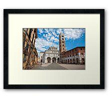 San Martino - Lucca Framed Print