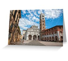 San Martino - Lucca Greeting Card