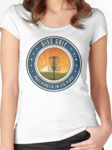 Putt Plastic In Its Place #4 Women's Fitted Scoop T-Shirt