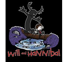 Will and Hannibal Photographic Print