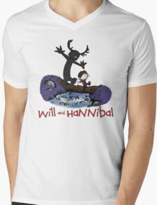 Will and Hannibal Mens V-Neck T-Shirt