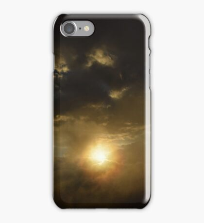 Monsanto's sky on a storm day iPhone Case/Skin