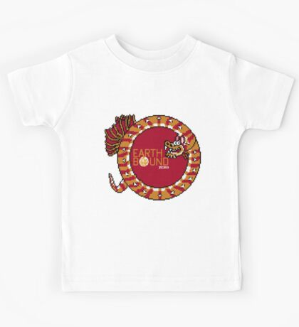 EarthBound Zero - Dragon Title Kids Tee