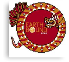 EarthBound Zero - Dragon Title Canvas Print