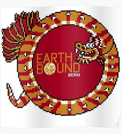 EarthBound Zero - Dragon Title Poster