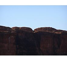 Part of Eastern Wall am, Kings Canyon N.T. Australia. Photographic Print