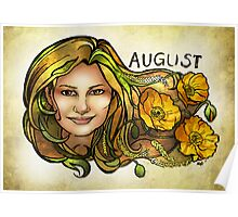 Kamila of August Poster
