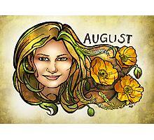 Kamila of August Photographic Print
