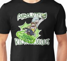 Absolutely Rick-diculous [With Text] Unisex T-Shirt