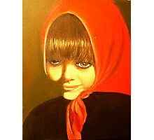 LITTLE GYPSY GIRL Photographic Print
