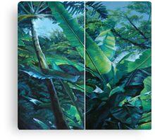 Banana Diptych Canvas Print