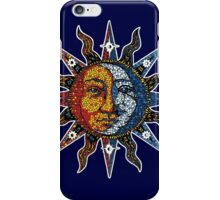 Celestial Mosaic Sun/Moon iPhone Case/Skin