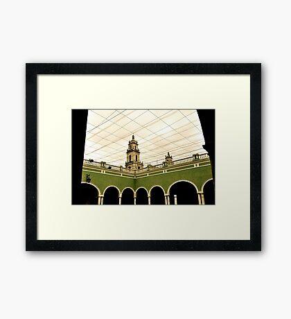 Net Sky Framed Print