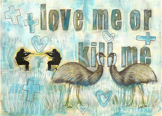 love me or kill me by HarrietBerlin