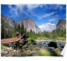 El Capitan in Yosemite National Park Poster