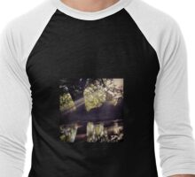 Riverbank Reflections  Men's Baseball ¾ T-Shirt