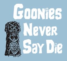Goonies Never Say Die Kids Clothes