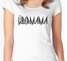 Übermama Women's Fitted Scoop T-Shirt