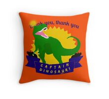 We Wave Our Tiny Arms! Throw Pillow