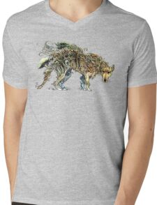 A Phantom in the Wilderness - The Thylacine. Mens V-Neck T-Shirt