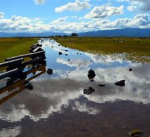Reflection on Table Rock by sketchpoet