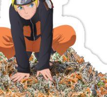 Naruto Dank Mountain Sticker