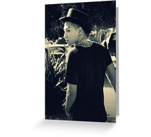 TAEYANG- RISE Greeting Card