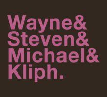 Wayne & Steven & Michael & Kliph by SolarMechanic
