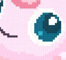 Jigglypuff Pixels Pokemon Sticker