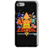 Star Wars Movie Poster Meets A Zelda Themed Epic Win! iPhone Case/Skin