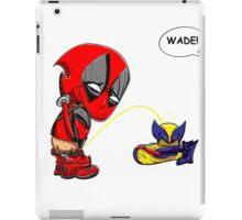 WADE! iPad Case/Skin