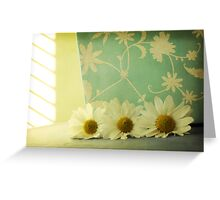 ...always daisy-time Greeting Card