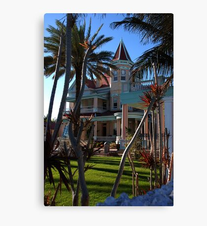 The Southernmost Hotel in Key West, FL Canvas Print