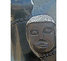 African Sculpture Photographic Print