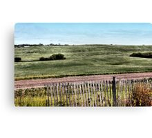 A Clear Breezy Afternoon Canvas Print