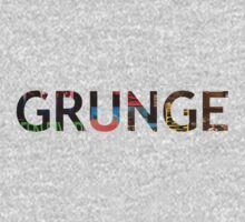 Grunge - iconic 90's records Kids Clothes