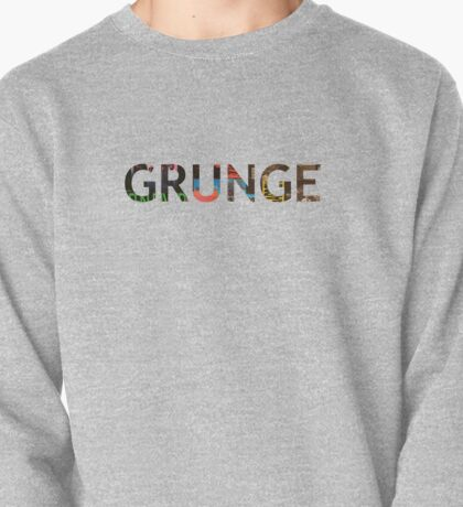Grunge - iconic 90's records Pullover