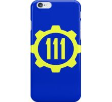 Vault 111 Fallout iPhone Case/Skin