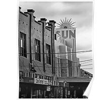 Sun Theatre Yarraville, Victoria, Australia Poster