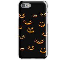 Halloween Glowing Jack o Lantern iPhone Case/Skin