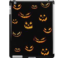 Halloween Glowing Jack o Lantern iPad Case/Skin
