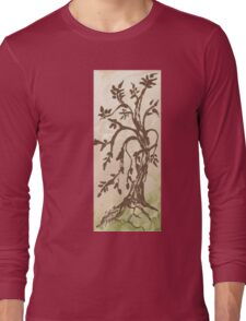 Young Willow Tree, Going With the Flow Long Sleeve T-Shirt