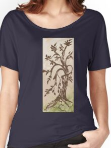 Young Willow Tree, Going With the Flow Women's Relaxed Fit T-Shirt