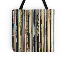 The Beatles, Led Zeppelin, The Rolling Stones - Classic Rock Albums Tote Bag