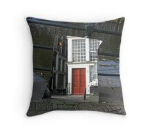 Amsterdam Reflection 2 Throw Pillow